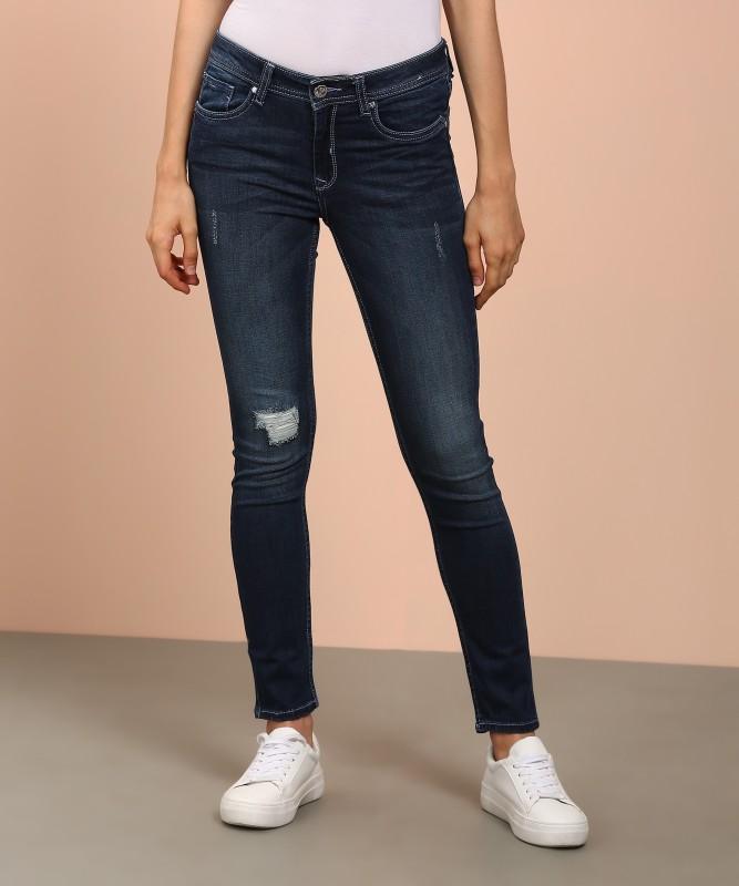 Allen Solly Skinny Womens Blue Jeans