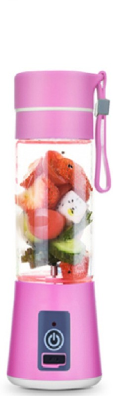 Ruhi Pro Portable USB Electric Juicer, Blender Juicer 380 Juicer Mixer Grinder(pink, 1 Jar) 0 W Juicer Mixer Grinder(Pink, 1 Jar)