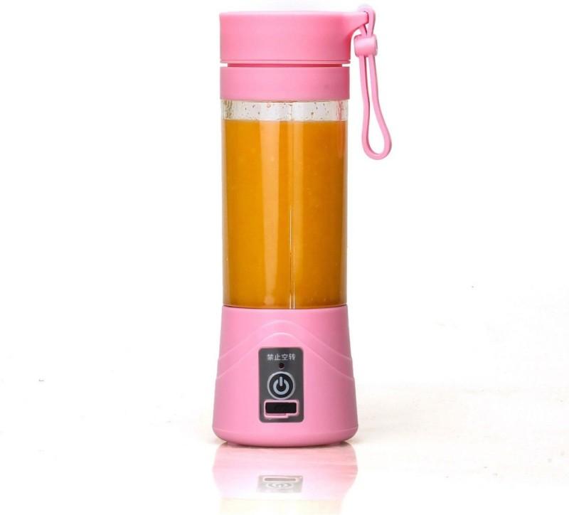 WDS Pro Portable USB Electric Juicer, Blender Juicer 380 Juicer Mixer Grinder(pink, 1 Jar) 0 W Juicer Mixer Grinder(Pink, 1 Jar)
