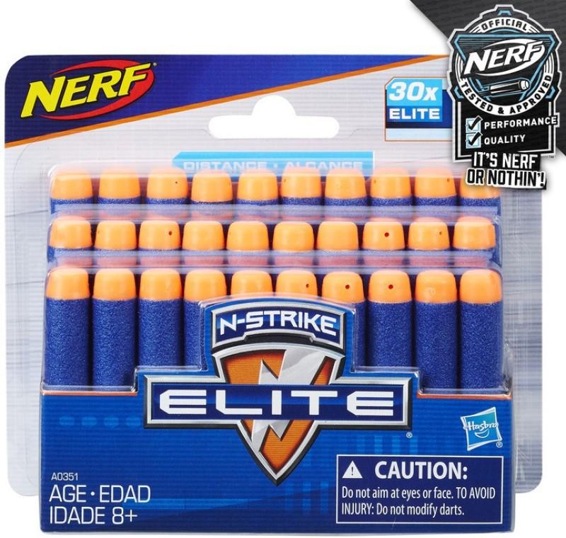 Nerf 30 Dart N-Strike Elite Refill(Multicolor)