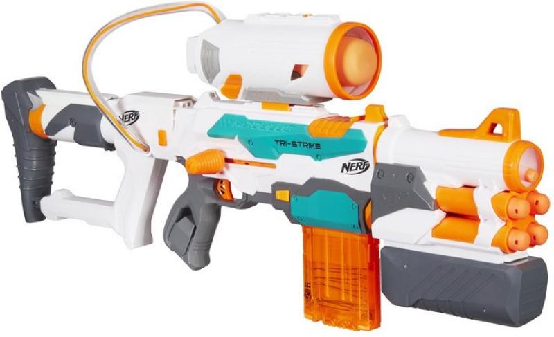 Nerf Modulus Tri-Strike Blaster(Multicolor)