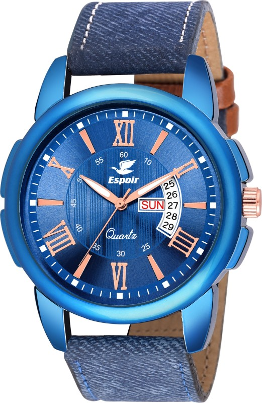Espoir LS3050-2 DAY AND DATE FUNCTIONING BEST QUALITY Analog Watch - For Boys