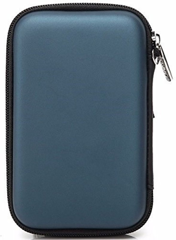 Gadget Deals Pouch for WD 6 TB Wired External Hard Disk Drive(Blue, Artificial Leather)