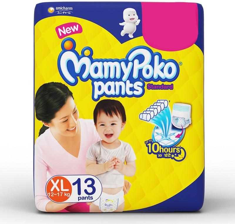 MamyPoko Pants Standard Diapers - XL(13 Pieces)