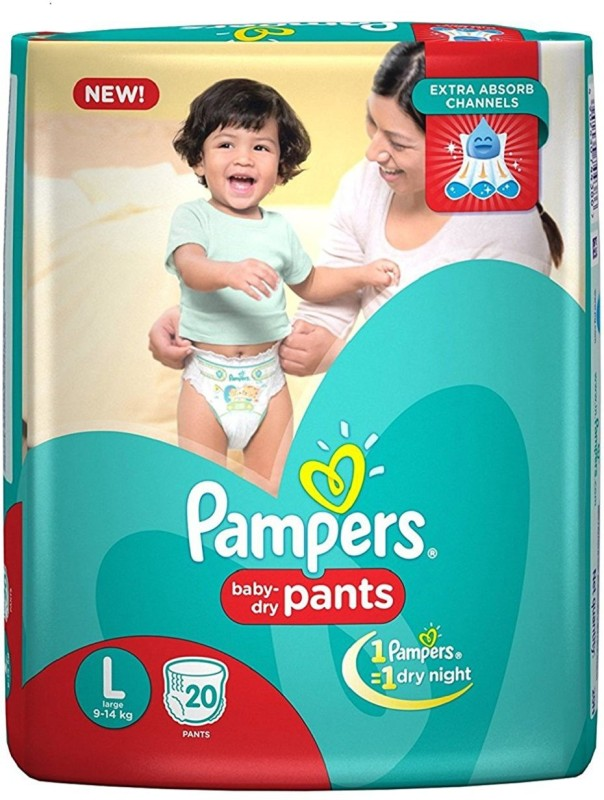 Pampers L - 20 Pant Daipers - L
