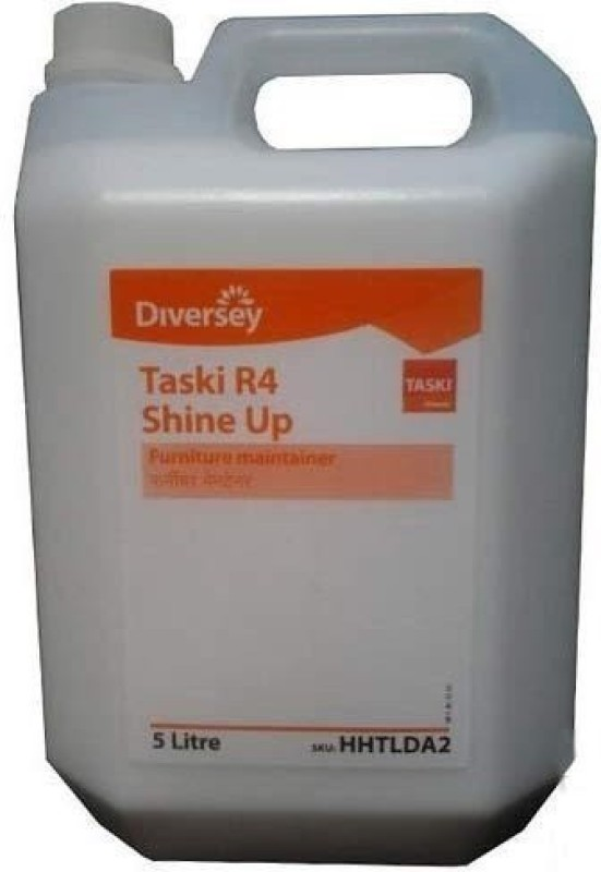 TASKI R4 Shine-Up Furniture Maintainer Dish Cleaning Gel(Pleasant, fresh Room Care fragrance., 5 L)