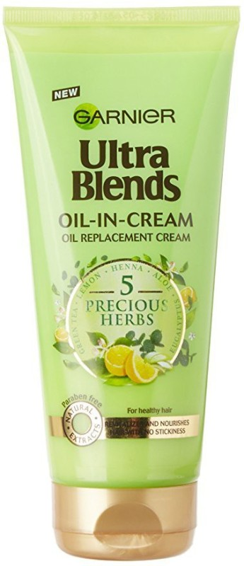 Garnier Ultra Blends Oil-in-Cream Hair Oil(200 ml)