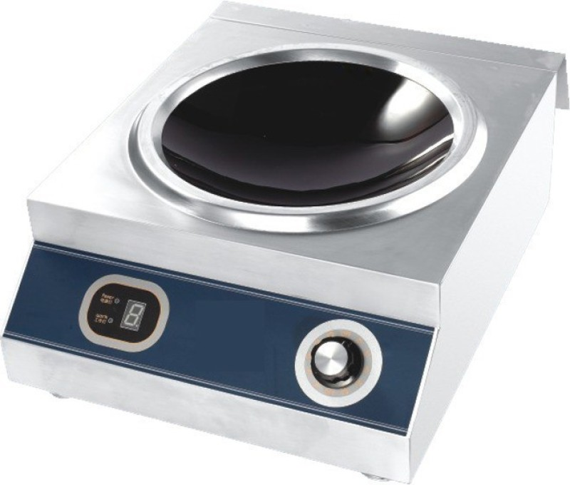SHIVA SKEPL-ZOTPC Induction Cooktop(Silver, Jog Dial)