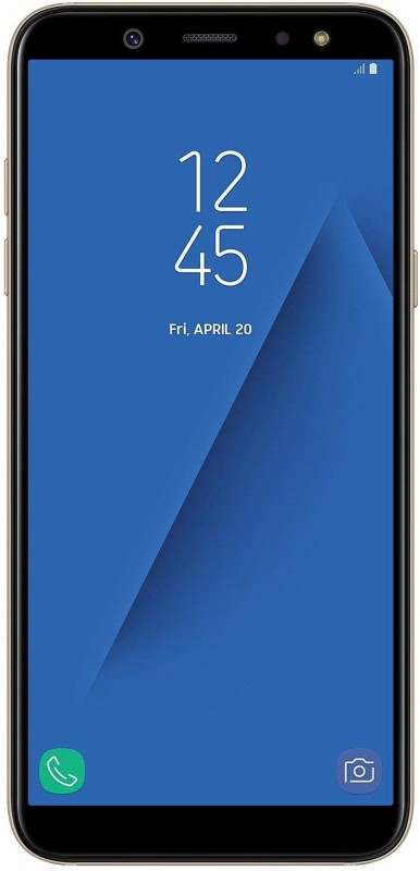 Samsung Galaxy A6 (Gold, 64 GB)(4 GB RAM)