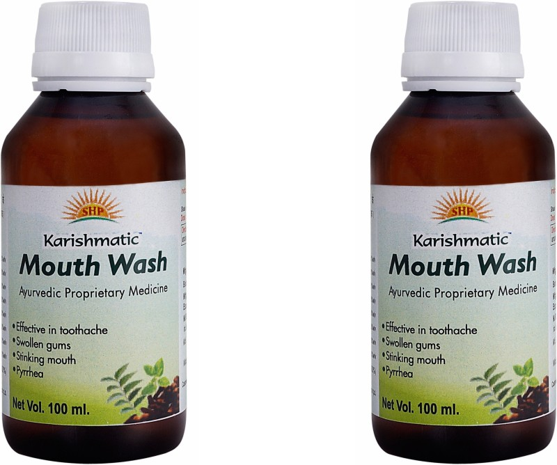 Karishmatic Mouth Wash, Teeth and Gum protector - Menthol(200 ml)