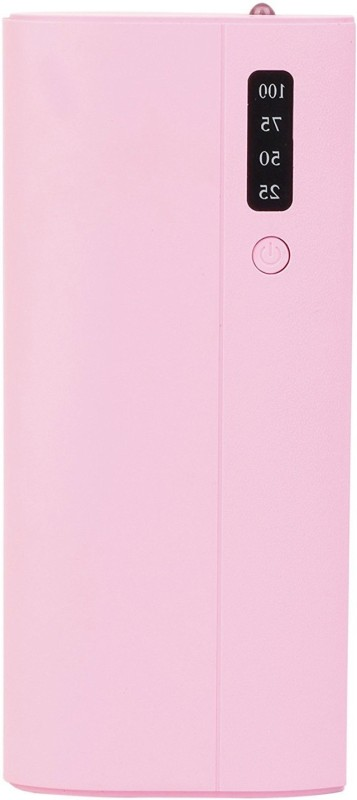 pomics 10000 Power Bank (nw p3, portable battery charger)(Pink, Lithium-ion)