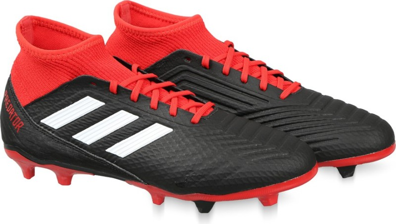 ADIDAS PREDATOR 18.3 FG Football Shoes For Men(Black)