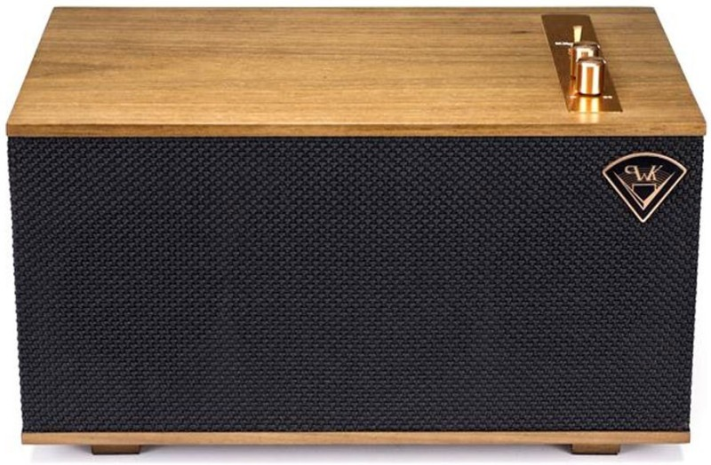Klipsch The Three Wireless Powered Speaker System With Bluetooth®, DTS Play-fi®, And Built-in Phono Preamp (Ebony) 60 Bluetooth Home Audio Speaker(Black (Ebony), Mono Channel)