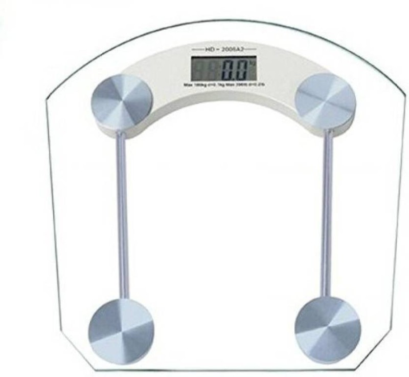 Mezire PRL SQUARE Weighing Scale  (TRANSPARENT) Weighing Scale(Transparent)