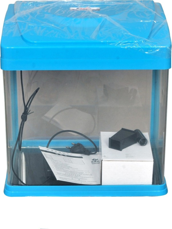 Aquapetzworld HX-320F Blue fish Aquarium Tank Rectangle Aquarium Tank(18)
