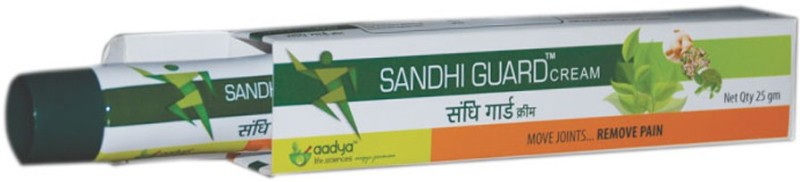 Aadya Life Sciences LLP Sandhiguard Cream - Herbal Pain Relief - Anti-analgesic Cream(50 g)