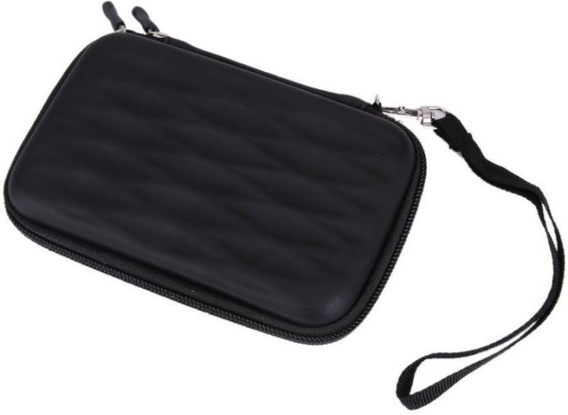M Mod Con Pouch for Sony Compact Slim 1 TB Wired External Hard Disk Drive(Black, Shock Proof, Artificial Leather)