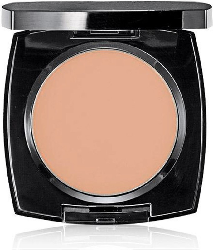 Avon True Flawless Mattifying Pressed Powder Compact(Neutral Medium Deep)