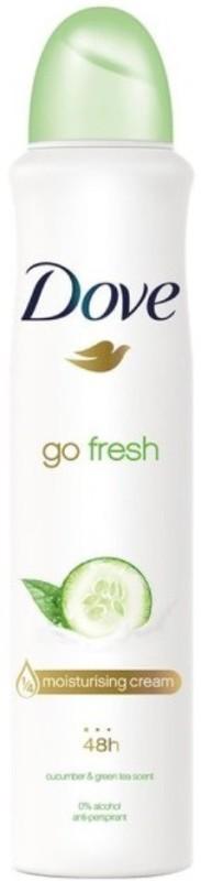 Dove Go Fresh (Cucumber & Green Tea Scent) Deodorant Spray - For Men & Women(250 ml)