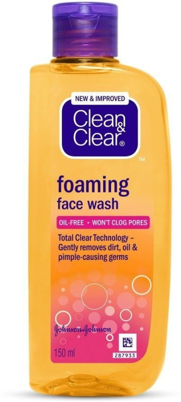 Clean & Clear Clean and Clear Foaming Face Wash, 150ml Face Wash(150 ml)