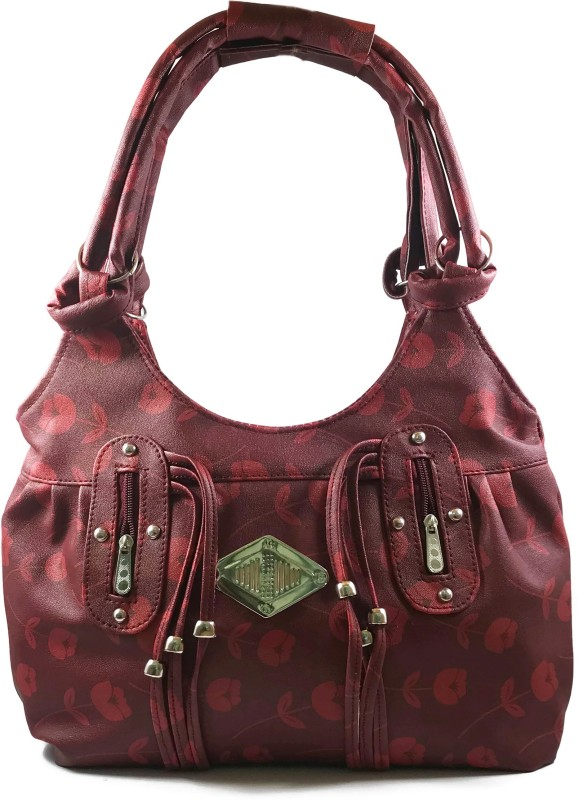 Ferishta Women Maroon Hand-held Bag