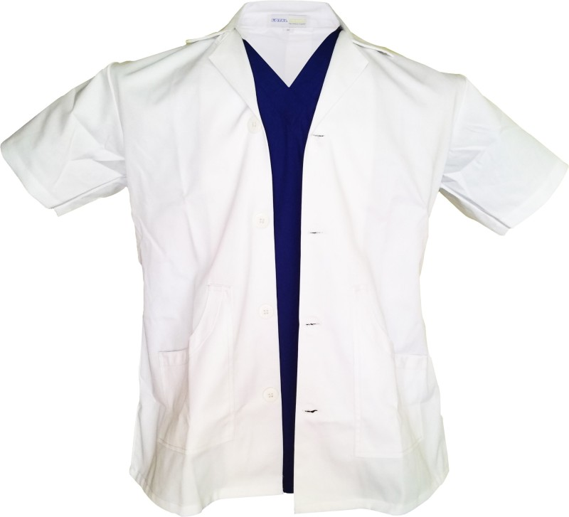 loyal needs Lab Coat(Cotton Polyester Blend)