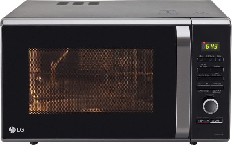 LG 28 L Convection Microwave Oven(MJ2886BFUM, Black)