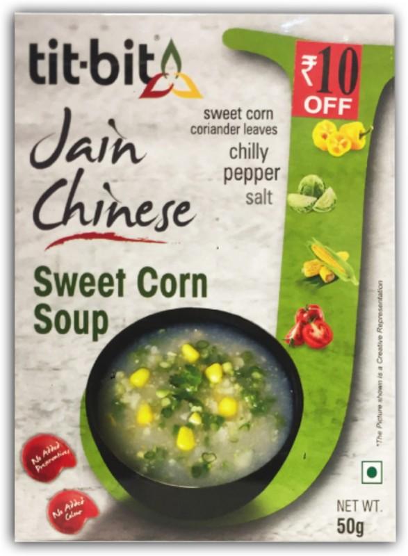 Tit-Bit Jain Chinese Sweetcorn Soup Mix(250 g)