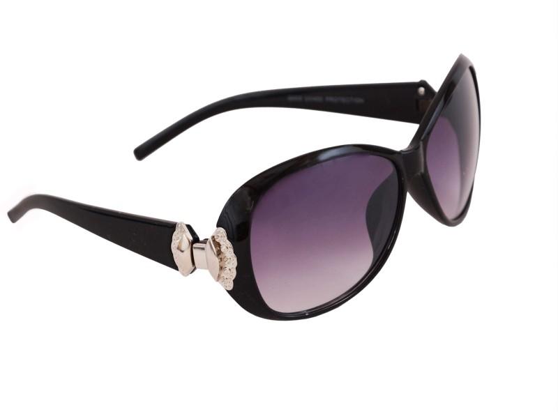 Krezo Over-sized Sunglasses(Violet) image