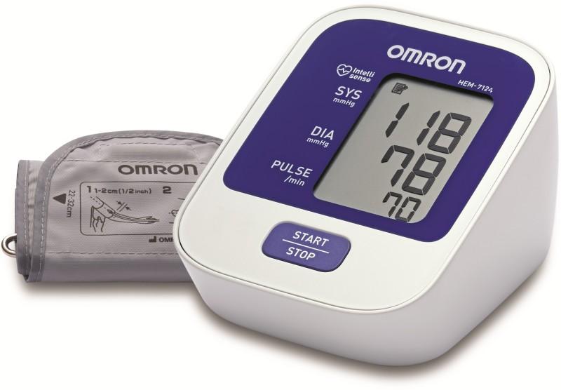 Omron HEM-7124 Bp Monitor(White)