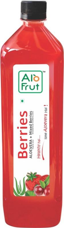AloFrut Berries Aloevera Juice 1000ML(Pack of 5) 1000 ml(Pack of 5)