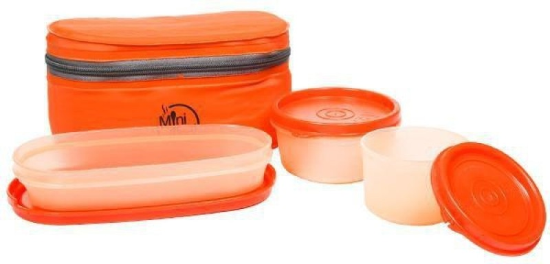 Milton Mini meal tiffin 3 Containers Lunch Box(700 ml)