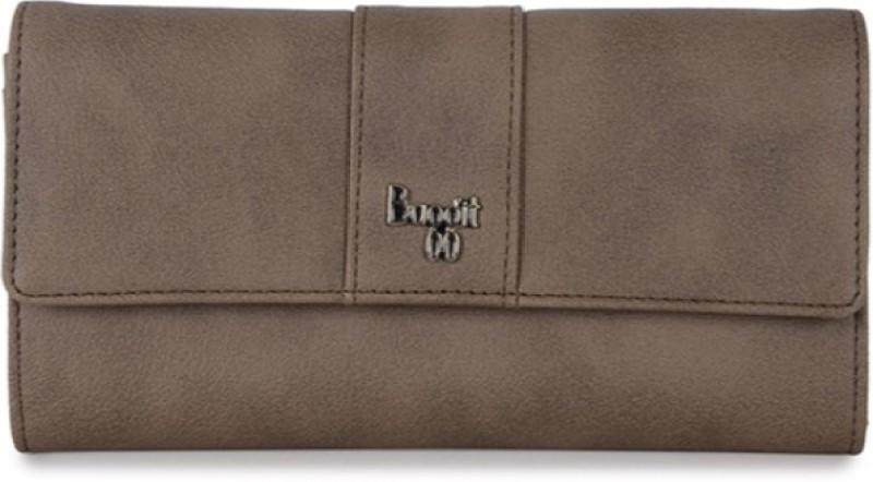 Baggit Women Casual Beige Artificial Leather Wallet(6 Card Slots)