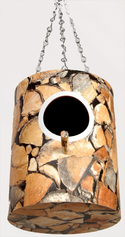 bird house Wood print Bird House(Hanging, Wall Mounting, Tree Mounting)