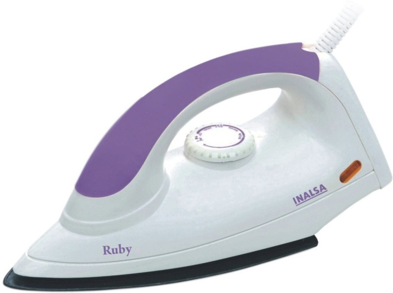 Inalsa RUBY 1000 W Dry Iron(PURPLE & WHITE)