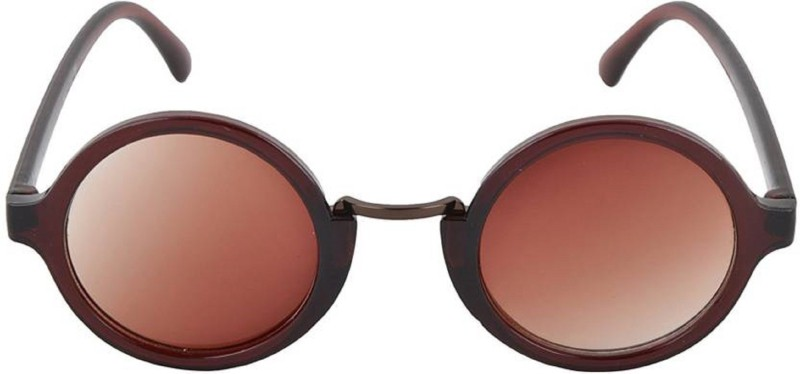 ask Round Sunglasses(Brown) image