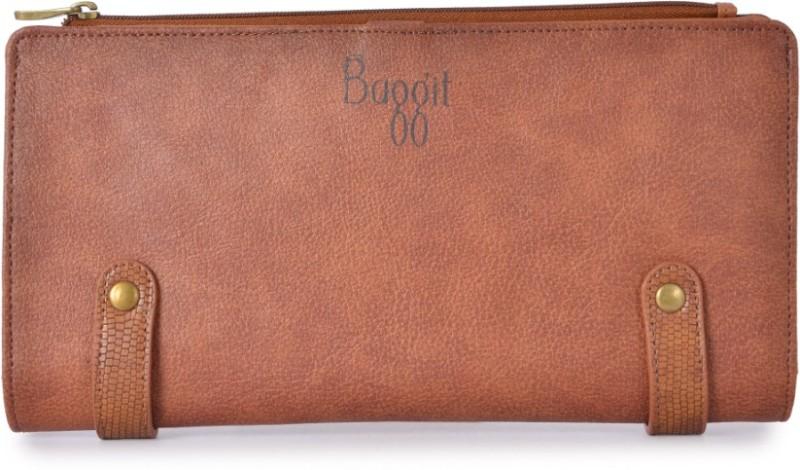 Baggit Women Formal Tan Artificial Leather Wallet(8 Card Slots)