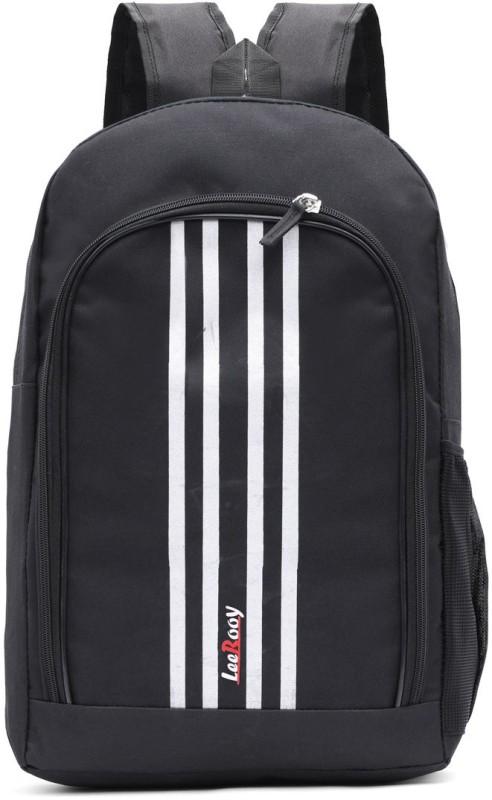 leerooy MN- BG25 BLK Waterproof Backpack(Black, 25 L)