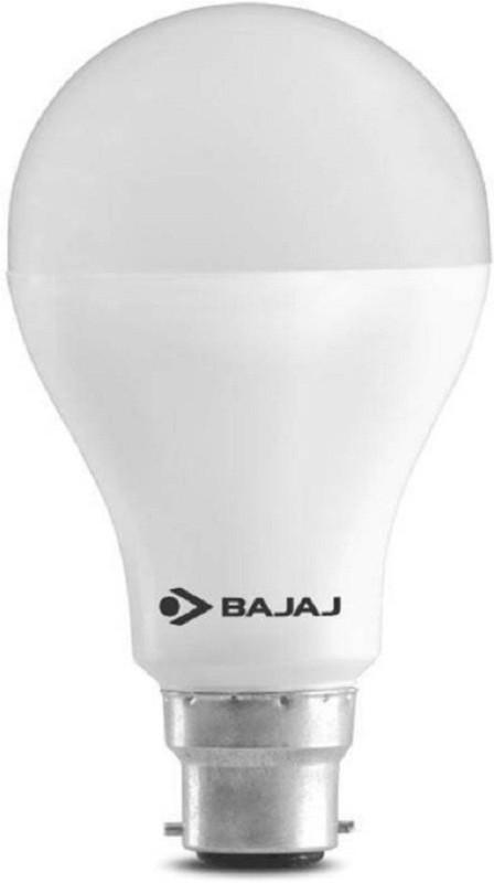 Bajaj 8 W Round B22 LED Bulb(White)