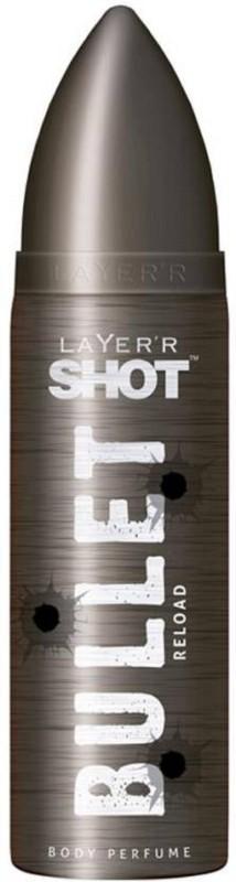 Layerr Shot RELOAD Perfume Body Spray - For Men(120 ml)