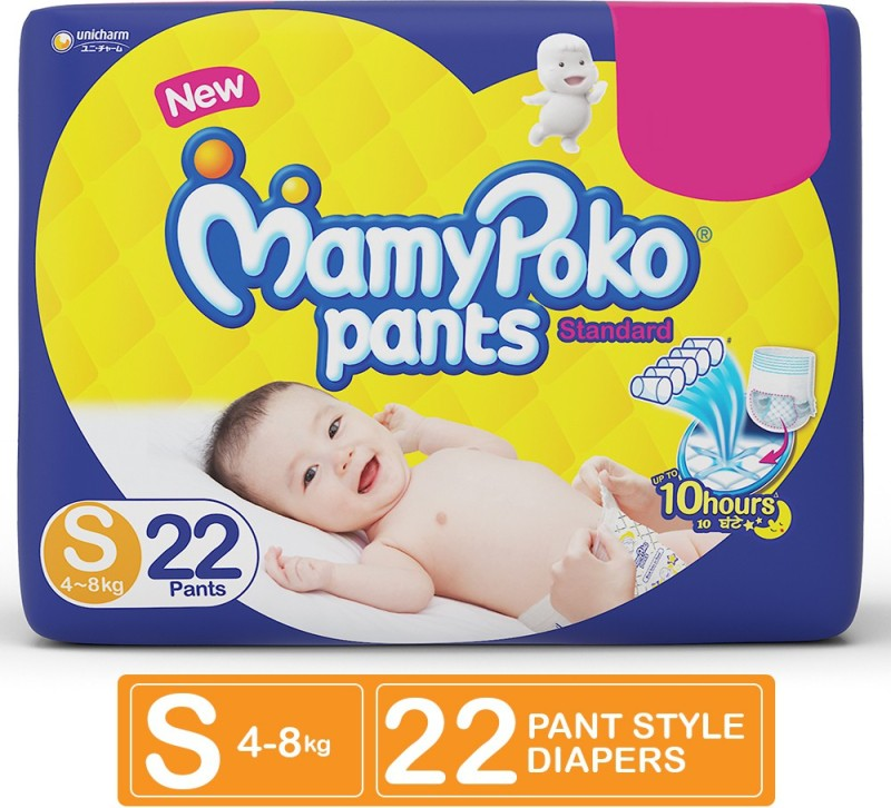 MamyPoko Pants Standard Diapers - S(22 Pieces)