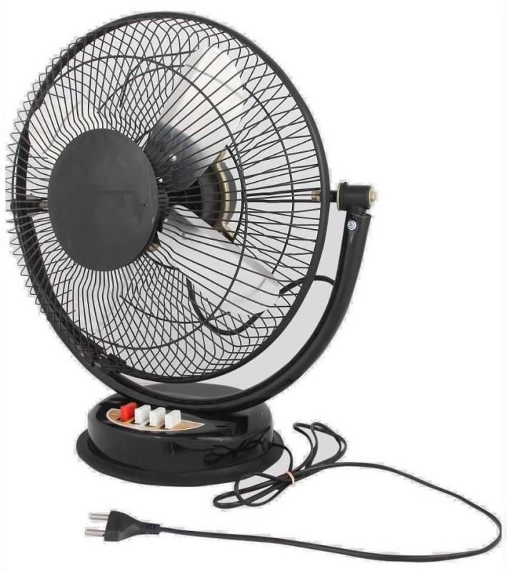 Amikan fan 4 Blade Table Fan(BLACK)