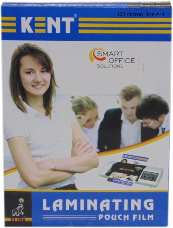 Kent A4 Laminating Sheet(125 mil Pack of 2)