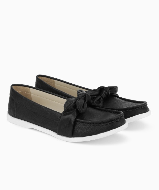 Carlton London Loafer For Women(Black)