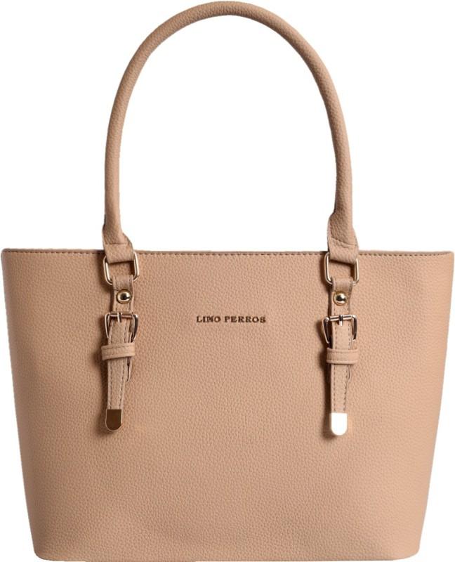 Lino Perros Hand-held Bag(Beige)