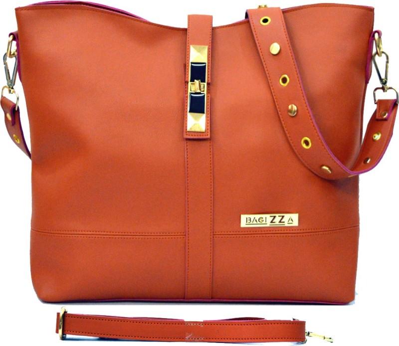 BAGIZZA Women Brown Shoulder Bag