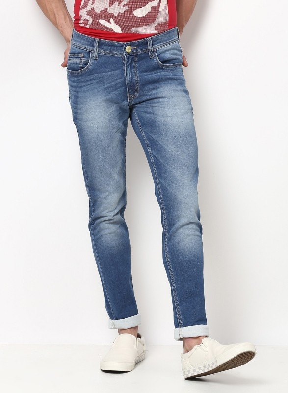 Monte Carlo Skinny Men Light Blue Jeans