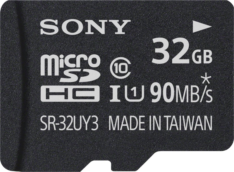 Sony SR-32UY3A 32 GB MicroSD Card Class 10 90 MB/s  Memory Card image