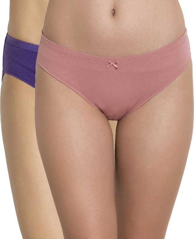Zivame Women Bikini Multicolor Panty(Pack Of 2)