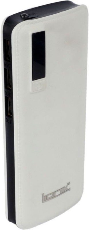 Lionix 10000 mAh Power Bank (Smarty-15K, Smarty P3 Leather)(White, Lithium-ion)